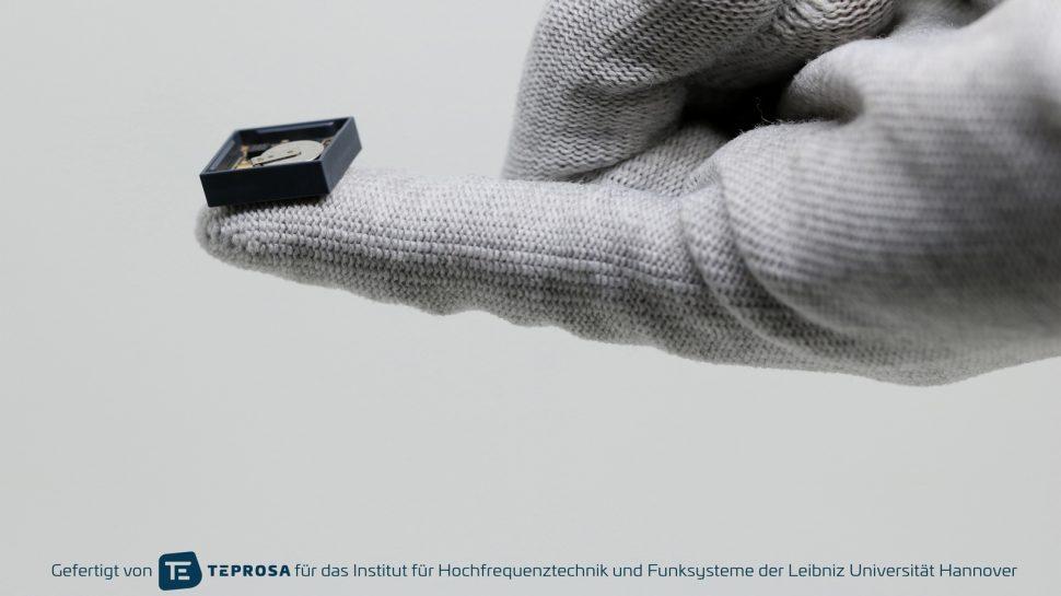 3DMID Sensorknoten auf Hand