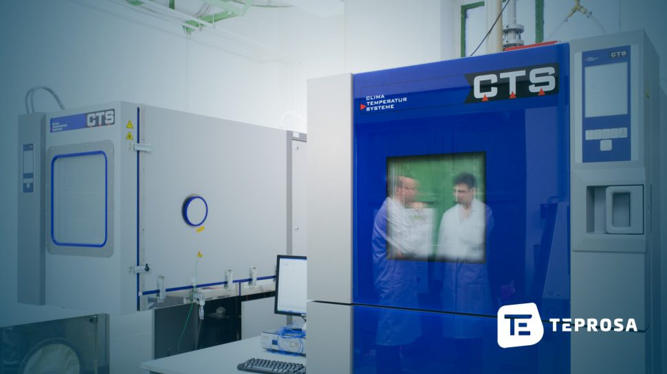 Themoschockschrank und eine Klimakammer