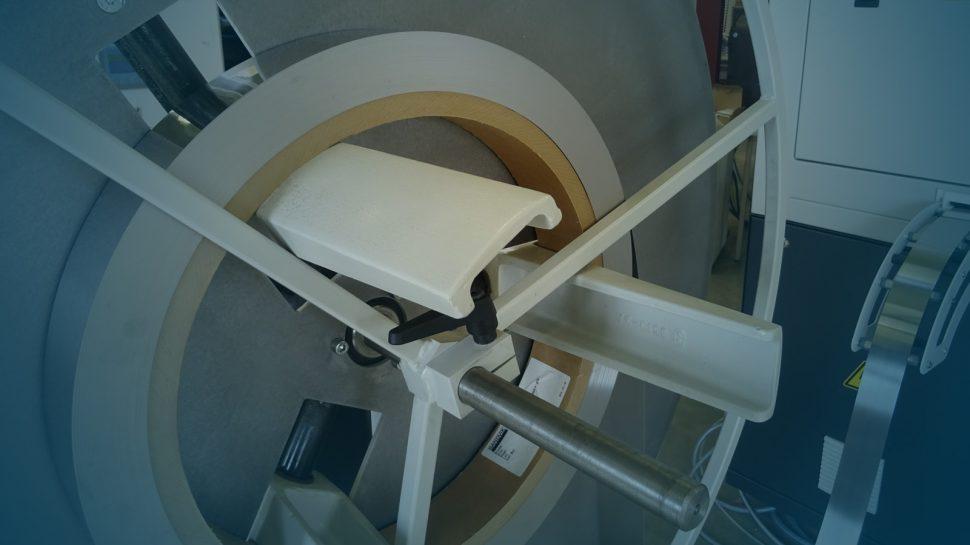 Stahlcoil auf einer Haspel