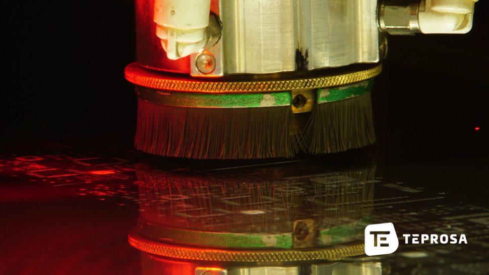 Laserschneiden von SMD-Schablonen aus Dünnblech