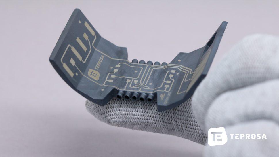 Laserdirektstrukturierenam Beispiel des Touch LED - unser 3D-MID Demonstrator für das LPKF-LDS-Verfahren