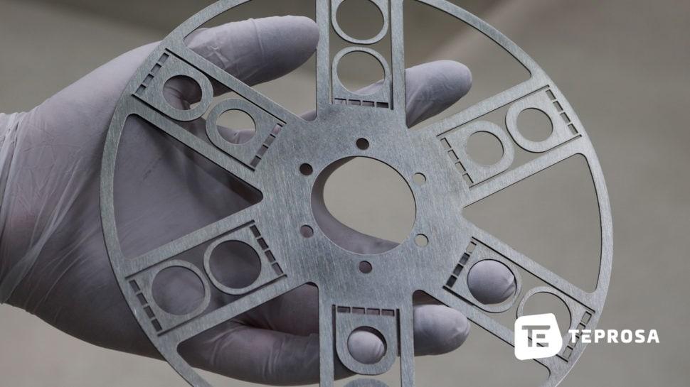 Laserzuschnitt aus Stahl-Blech bei TEPROSA