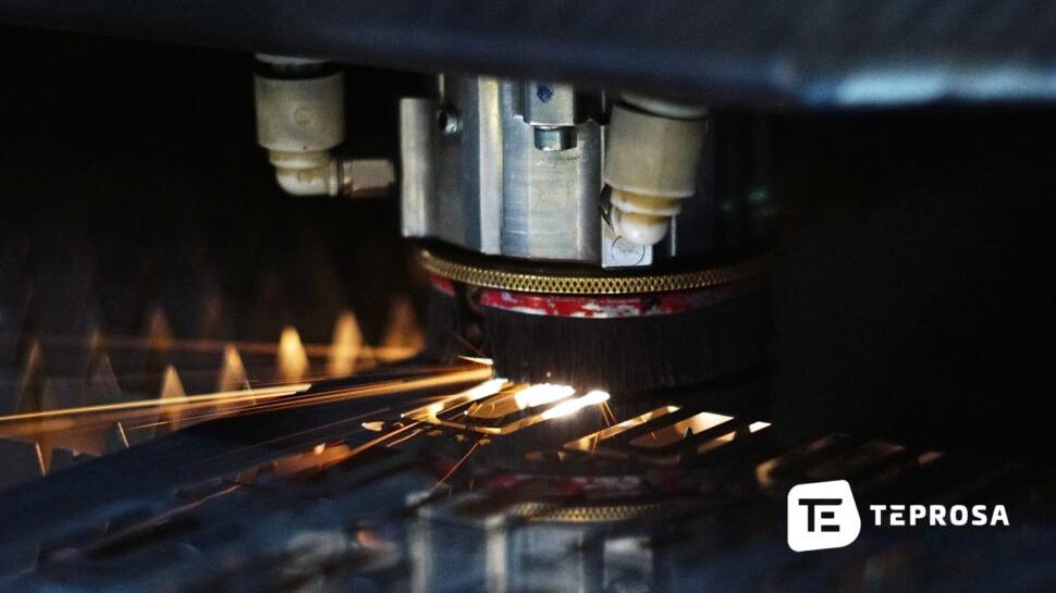 Laserschneiden von Dünnblech bei TEPROSA